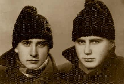 Valeriu Gafencu (stanga) - impreuna cu Ovidiu Creanga,1940